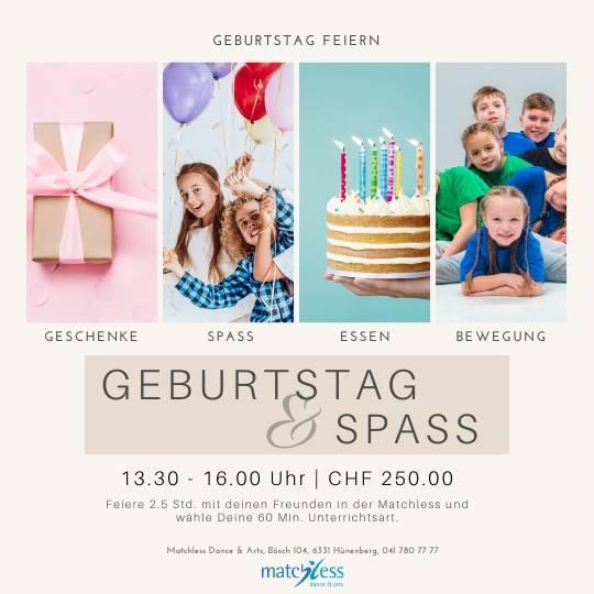 Matchless Kinder Geburtstag feiern