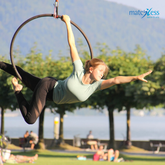 Matchless Outdoor Aerial Hoop Cham