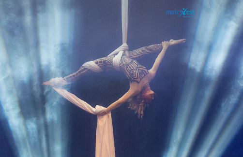 Matchless Dance and Arts Aerial Silk Jubiläums Show 2019