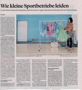 Zuger Zeitung Bericht 20.1.2021